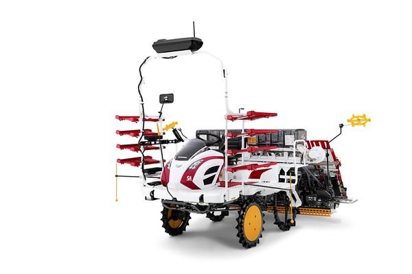 В Японии готов к продажам роботрактор для посадки риса