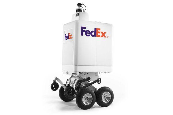 FedEx представил наземного уличного робокурьера SameDay