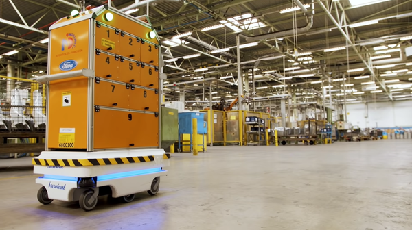 Роботизация: Survival - фабричный робокурьер Ford