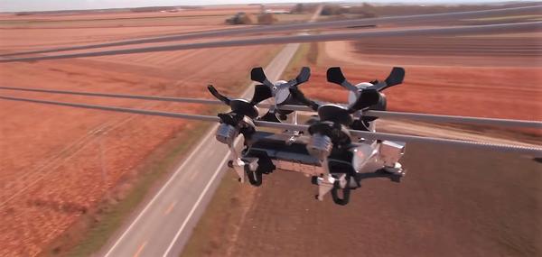 Роботизация: Канадский робот LineRanger поможет контролю проводов ЛЭП