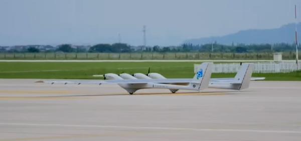 Беспилотники: MOZI 2 - китайский дрон с питанием от солнечных батарей